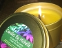Hemp Oil Infused Candles